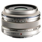 奥林巴斯 M.ZUIKO DIGITAL 17mm F1.8 广角定焦镜头 银色