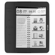 润唐 EF602 电子书阅读器 6英寸柔性墨水屏 黑色