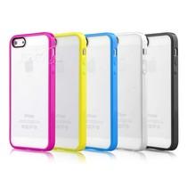迪沃 iphone5/5S 彩虹防刮双色背壳产品图片主图