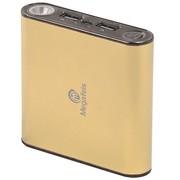 麦格菲斯 P180 移动电源 6600mAh 双USB输出 香槟色 (适用于苹果、三星Note、小米等手机 )