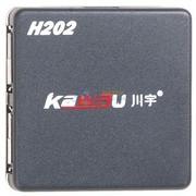 川宇 H202 H202 4口HUB-USB集线器无需电源,可同时带2个500G移动硬盘(黑色)