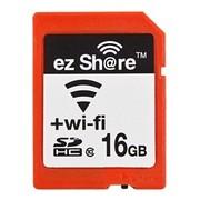 ez Share DS100 WIFI 无线SD卡 SDHC 16G CLASS10 相机无线存储卡 自拍神器必备