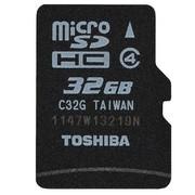 东芝 32G TF(microSDHC) 存储卡(Class4)