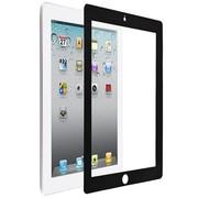 ESR new iPad/iPad3/iPad2/iPad4 零泡无痕屏幕保护贴膜 苹果iPad4贴膜 黑色 (防指纹