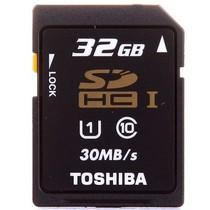 东芝 高速SDHC存储卡 32GB UHS/Class10 30M/s产品图片主图
