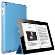 ESR iPad4/new iPad/iPad3/iPad2 经典超薄保护套 苹果iPad4皮套 iPad2保护壳 (蓝色)