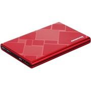 联想 F360S 红色  2.5英寸 USB3.0 500GB 金属外壳