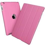 ESR iPad4/new iPad/iPad3/iPad2智能超薄支架保护套 苹果iPad4皮套 iPad2保护壳 (粉色