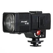 柏灵 K-80 可调焦LED 小型摄像灯 摄影灯 补光灯 采访灯 视屏灯 微电影灯 新闻灯