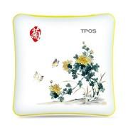 TPOS R504 中国风梅兰竹菊系列移动电源之菊 5000mAh 毫安 聚合物更放心(适用iPhone 三星 HTC 诺基亚等)