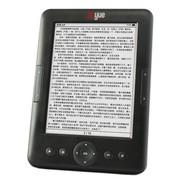 博阅 C60 电子书阅读器 E-ink第二代珍珠屏 简易键盘 6寸电子书 wifi上网 黑色