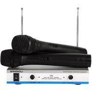 双诺 Z02 无线麦克风 无线手持话筒 双手麦 KTV 舞台无线话筒