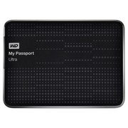 西部数据 My Passport  Ultra USB3.0 1TB 超便携移动硬盘 (黑色)BZFP0010BBK