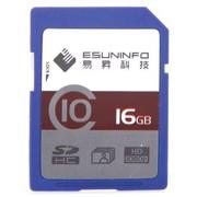 易昇 16GB SDHC存储卡(class10)20MB/S 高清摄影、摄像专用
