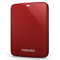 东芝 V7 Canvio高端分享系列2.5英寸移动硬盘(USB3.0)1TB(活力红)产品图片主图