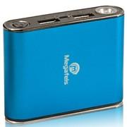 麦格菲斯 P160 移动电源 4400mAh 双USB输出 金属蓝 (适用于苹果、三星Note、小米等手机)