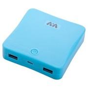 V+V V13 充电宝10400毫安超大容量移动电源 双USB输出 天际蓝