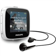 飞利浦 GoGear SA3SPK04W/93 白色 1.5寸超大触摸屏MP3 播放器