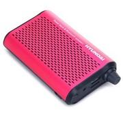 现代 D36 蓝牙音响 2200毫安 移动电源 红色