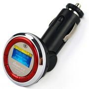 索浪 SL-819车载MP3音乐播放器 汽车用MP3可做U优盘读卡充电器 高端版 红色-4G版