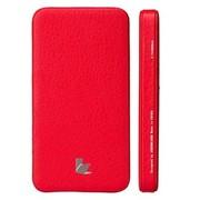 杰森克斯(jisoncase) 5000mAh移动电源 大容量小体积 经典时尚气度不凡 达人出行必备 红色JS-YDD-01C30