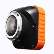 酷道 鹰眼S3运动摄像机/佩戴式高清行车记录仪/户外高清防水摄录机 黑橙色