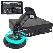 守护眼 MD657全景行车记录仪 四摄像头四个方位24H停车监控全车360度 标配+原装64G卡