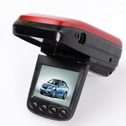 凌途 B50 云升级测速电子狗安全预警仪超广角夜视车载行车记录仪二合一 红色 内存8G