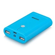 勤方(CHIFROG) CF-610 6600mAh大容量双USB口输出 移动电源 充电宝 宝石蓝