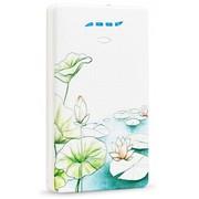龙威盛 LS-B500_荷塘青韵 5000mAh 意尚充电宝 适用苹果 三星 小米 华为 联想 iPad 等数码产品充电