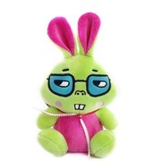 艾米(iMMi) IP-501 卡通时尚移动电源 兔系列 — 玫红 全球首创毛绒卡通移动电源