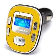 索浪 SL-605 汽车用车载mp3无损音乐播放器 可做U优盘读卡手机充电器 一机多用 金色-2G版