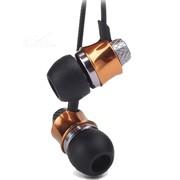 東格 HS301入耳式金属耳机手机/PC适用 香槟金