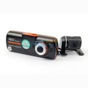 任e行 【送5件礼包】C10 高清双镜头行车记录仪1800万像素 174度广角 宽动态WDR 单镜头标配无卡