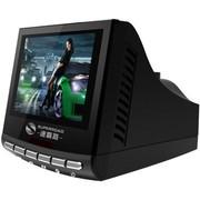 速霸路 台湾 HD-955 彩屏 安全预警行车记录仪一体机 固定流动电子狗 赠送16G高速卡 黑色