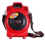 特美声 Q6 单6.5寸大功率|电瓶音箱|便携式|户外|移动|充电插卡|广场街舞音响|地摊|教学 红色