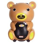特美声 DP-191 单8寸户外|插卡|便捷|移动|大功率|卡通音响|可爱小熊猫拉杆电瓶音箱 棕色