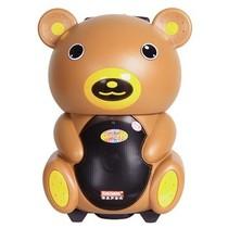 特美声 DP-191 单8寸户外|插卡|便捷|移动|大功率|卡通音响|可爱小熊猫拉杆电瓶音箱 棕色产品图片主图