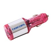 卡康尼 汽车节油器节油宝省油器 省油 且行且珍惜 粉红