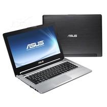 华硕 S46E3317CB-SL 14英寸超极本(i5-3317U/4G/500G+24G SSD/2G独显/Win8/黑)产品图片主图