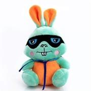 艾米(iMMi) IP-602第二代毛绒卡通移动电源 兔 电量显示 充电速度提升1倍 容量升级至6000毫安 橙黄