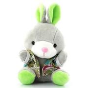 艾米(iMMi) IP-508 卡通个性移动电源 米米兔(坐姿)系列—绿色 创意便携毛绒移动电源 全球首创 三星电芯