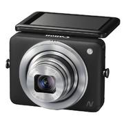 佳能 PowerShot N 数码相机 黑色(1210万有效像素 2.8英寸上翻式触摸屏  8倍光学变焦 WiFi传输)