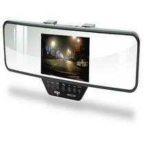爱国者 AHD-C700 1080P高清摄像广角夜视 蓝牙后视镜行车记录仪产品图片主图