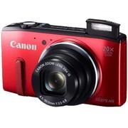 佳能 PowerShot SX275 HS 数码相机 红色(1210万像素 3英寸屏 20倍光学变焦 25mm广角 WiFi传输)