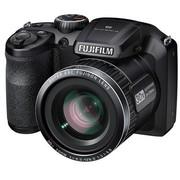 富士 FinePix S4850 数码相机 黑色(1600万像素 3.0英寸屏 30倍光学变焦 24mm广角)