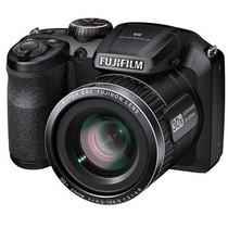 富士 FinePix S4850 数码相机 黑色(1600万像素 3.0英寸屏 30倍光学变焦 24mm广角)产品图片主图