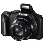 佳能 PowerShot SX170 IS 数码相机 黑色(1600万像素 3英寸屏 16倍光学变焦 28mm广角)