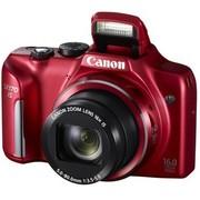 佳能 PowerShot SX170 IS 数码相机 红色(1600万像素 3英寸屏 16倍光学变焦 28mm广角)