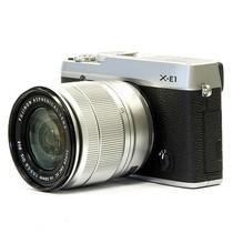 富士 X-E1(XC16-50mm) 单电套机(银色机身/银色镜头)产品图片主图